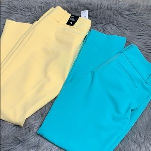 The Limited Drew fit ankle pants size 4 lot of 2